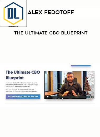 The Ultimate CBO Blueprint