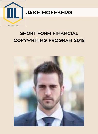 the dl course The DL Course Jake Hoffberg     Short Form Financial Copywriting Program 2018