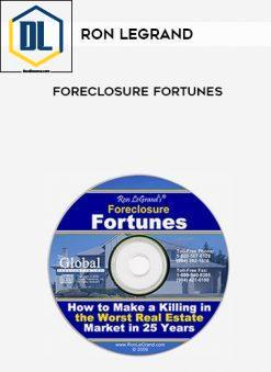 the dl course The DL Course Ron Legrand     Foreclosure Fortunes 247x339