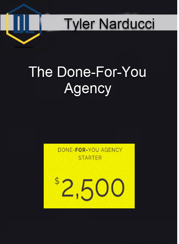 Tyler Narducci – The Done-For-You Agency