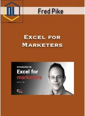 ConversionXL – Fred Pike – Excel for Marketers
