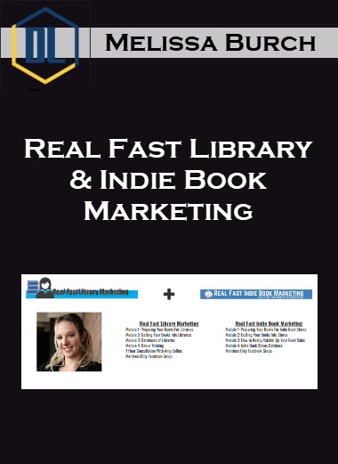 Melissa Burch – Real Fast Library & Indie Book Marketing
