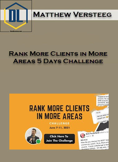 Rank More Clients in More Areas 5 Days Challenge